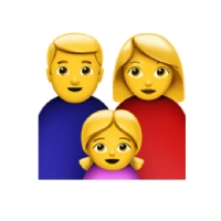 Couple with Children Emoji